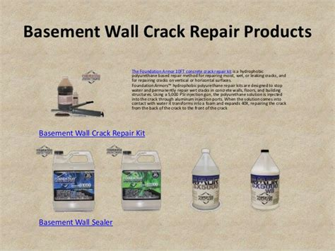 basement wall repair kit basement wall repair kit