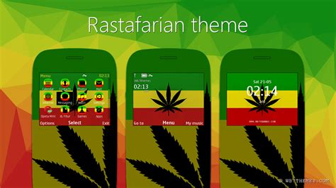 Rasta Themes For Nokia Asha 201 | rastafari theme s40 320x240 asha 200 205 210