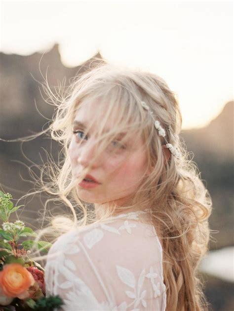 hair styles blown by the wind the best beach wedding hair tips
