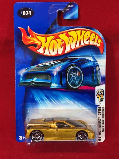 Hotwheels 2001 B Engineering Edonis wheels 2004 editions 2001 b engineering edonis