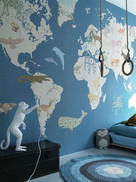 amazing wall print collection  atinkeheiland world map