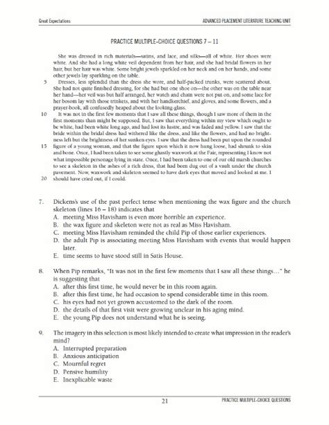 Ap Literature Essay by Essay Questions For Ap Lite