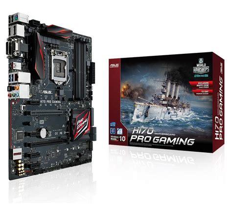 asus h170 pro gaming asus h170 pro gaming atx motherboard for intel socket