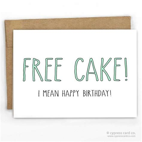 funny printable happy birthday dad cards free cake funny happy birthday card card stock