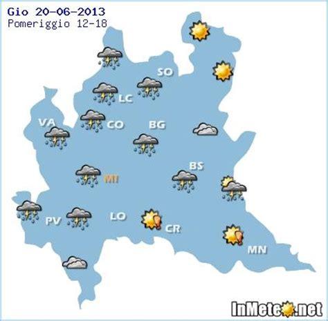 meteo domani pavia lombardia temporali e grandinate in arrivo ecco le