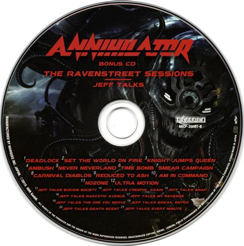 Cd Annihilator annihilator society 2015 shm cd cd japan limited edition avaxhome