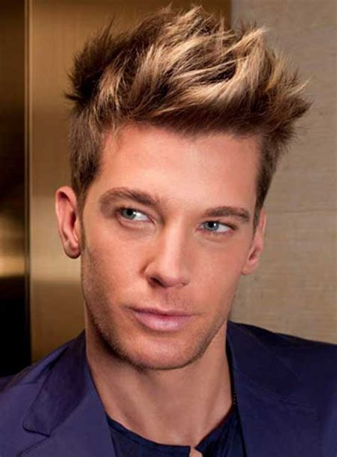 mens haircuts with highlights the gallery for gt highlights for dark hair men