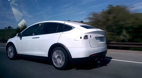 Tesla X Production 2016 Tesla Model X Spied On Looks Ready For
