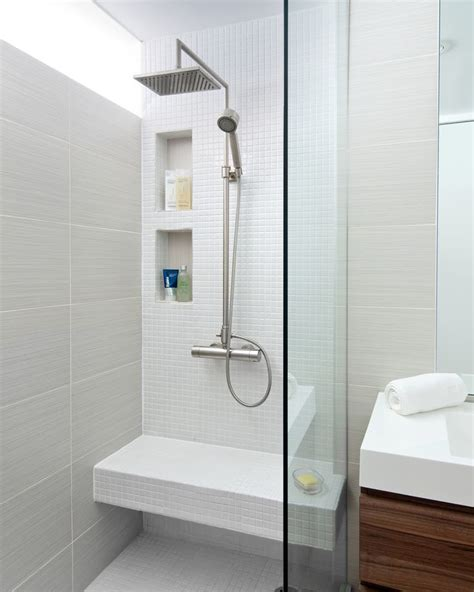 Bathroom Shower Storage 12 Design Ideas For Including Built In Shelving In Your Shower Contemporist