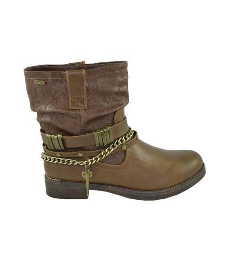 cadenas zapatos botas crax cadenas moka mustang zapatos online calzado