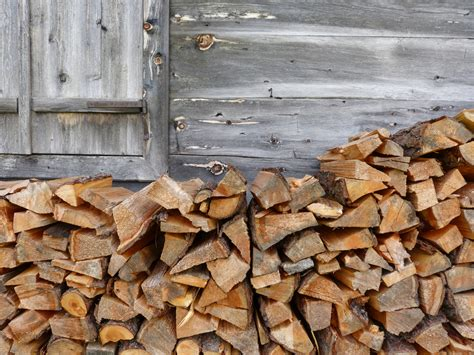 Firewood Fireplace by How To Stack And Season Firewood Patriot Caller