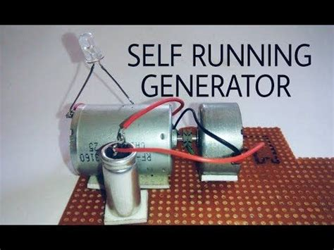 self running motor capacitor free energy self running generator using dc motor and capacitor energ 237 a renovable