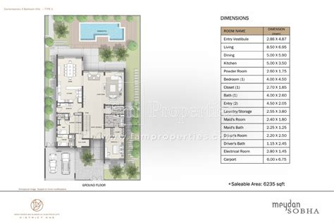 District One Dubai Floor Plans - floor plans meydan district one mohammad bin rashid al