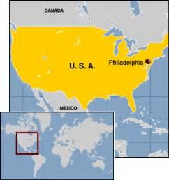 Philadelphia Usa Map by Maps Usa Map Philadelphia