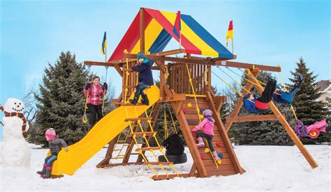 rainbow play systems wooden swing sets rainbow swing sets cost in splendid ny rainbow play