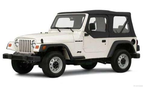 jeep models 2000 2000 jeep wrangler models trims information and details