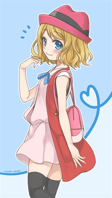 short hair serena by mono land on deviantart