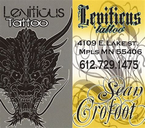 leviticus tattoo mn mn00020 leviticus piercing business