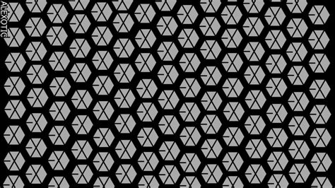 exo pattern wallpaper exo wallpaper for iphone wallpapersafari