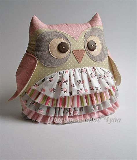 Patchwork Owl Cushion Pattern - the 25 best ideas about owl pillow pattern on