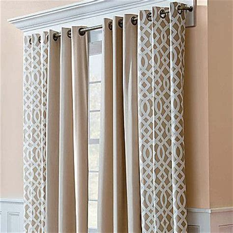 trellis print curtains thermalogic trellis print grommet top insulated thermal