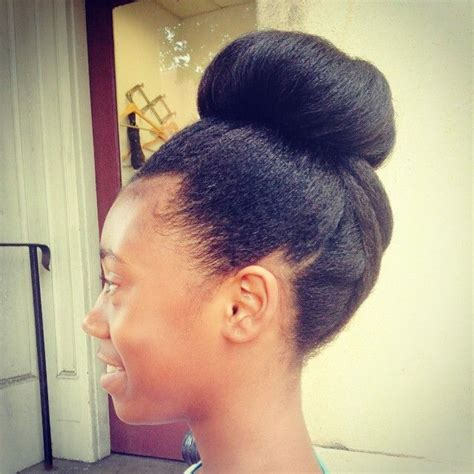 natural hairstyles that are easy to maintain quick low maintenance naturalhairupdo front good for