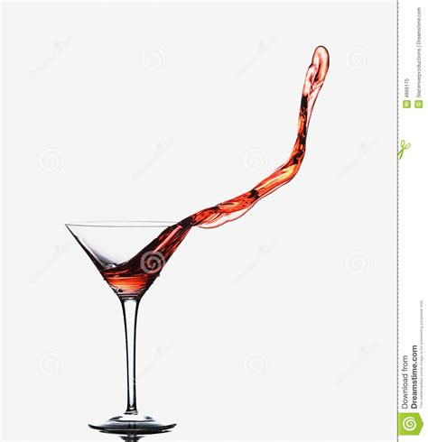 Martini Spill Royalty Free Stock Photo Image 4866175