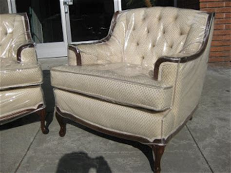 Plastic Covered Furniture by Uhuru Furniture Collectibles Sold Great Auntie S
