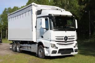 Mercedes Actros Used Mercedes Actros 2551 L 6x2 Flisbil Wood Chip