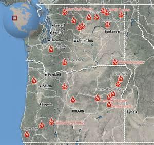 washington wildfires  worst   states history