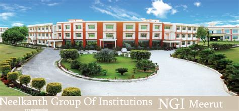 Royal Of Institutions Mba Fees by Neelkanth Of Institutions Ngi Meerut Mba Fees