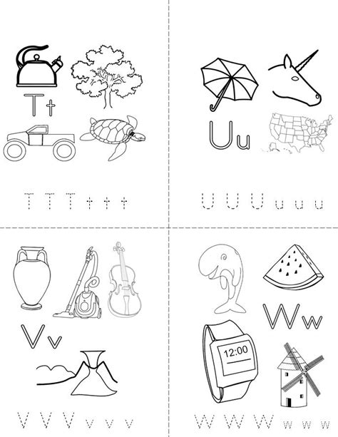 My Abc Book Twisty Noodle Make Your Own Alphabet Book Template