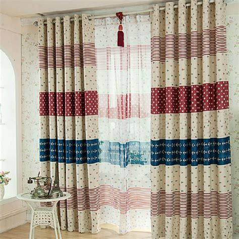 cheap curtains for kids discount poly cotton striped beige nautical curtains for kids