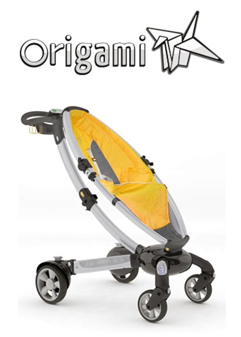 The Origami Stroller - baby gear innovations alpha