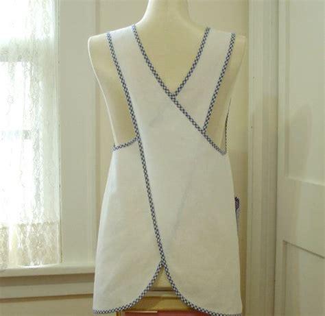 apron pattern no tie easy no tie apron diy creations pinterest