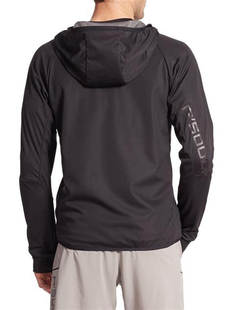 jacket design black porsche design windbreaker jacket in black for men lyst