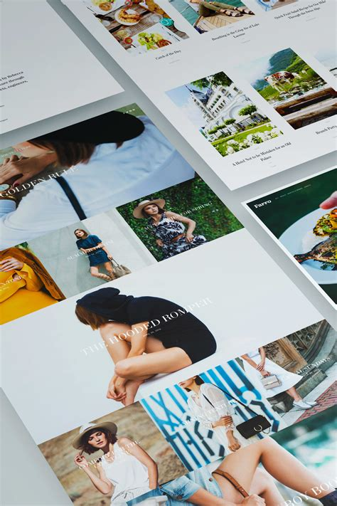 squarespace five template introducing five magazine style templates the official