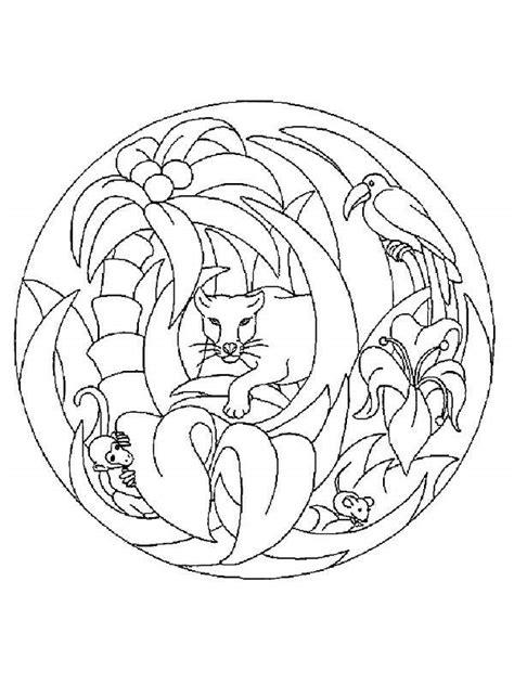 imagenes de mandalas con animales pintando y coloreando mandalas con animales
