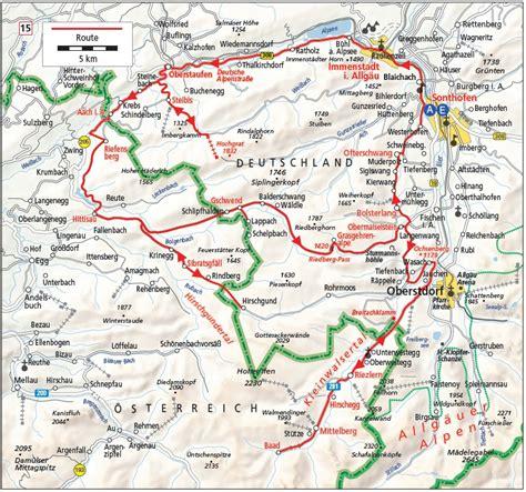 Motorradvermietung Oberstdorf by Mit Dem Motorrad 252 Ber Den Riedbergpass Motorradtouren Allg 228 U