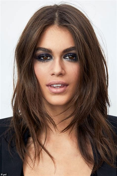 kaia gerber ysl beaute kaia gerber is named as the new ysl beaute makeup