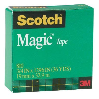 Roll Rambut Magic 3 Inches scotch magic 3 4 x 36 yds 3m cutting gluing