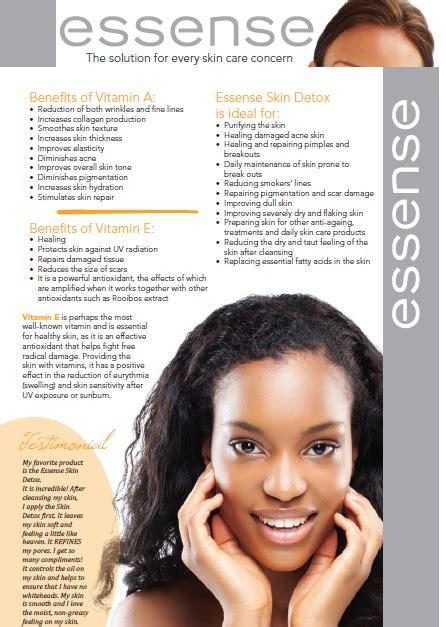 Detox Reactions Skin by Zhannique Essense Skin Detox