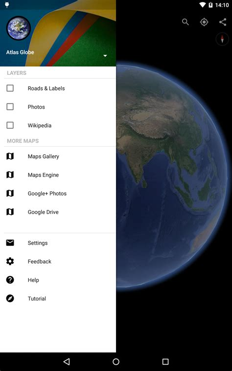 earth app for android free earth android reviews at android quality index