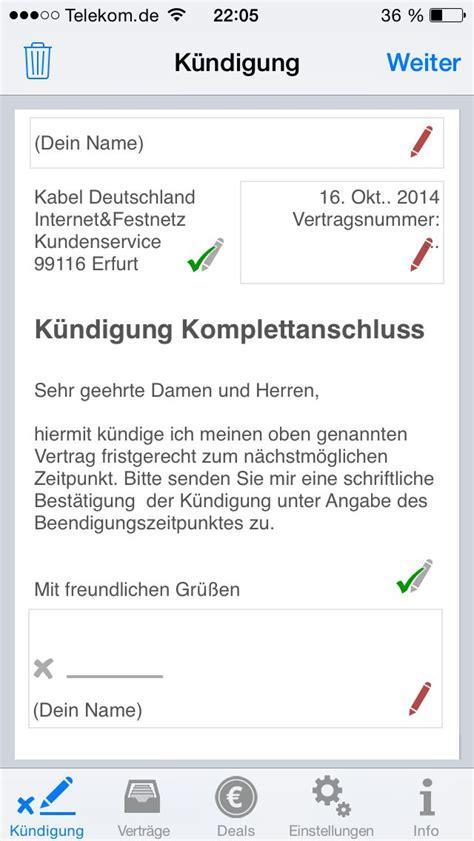 kabel deutschland au 223 erordentliche k 252 ndigung vorlage k 252 ndigung vorlage fwptc