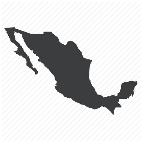 america map icon country location map mexican mexico navigation