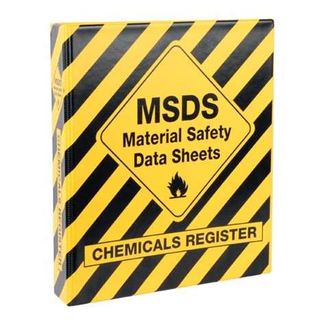 printable msds binder cover sheet msds binder cover page pictures to pin on pinterest