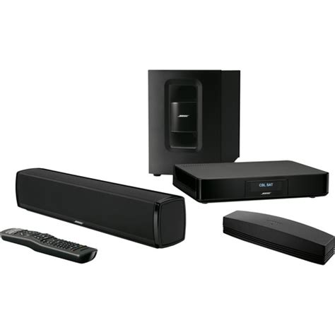 bose soundtouch 120 home theater system black 738478
