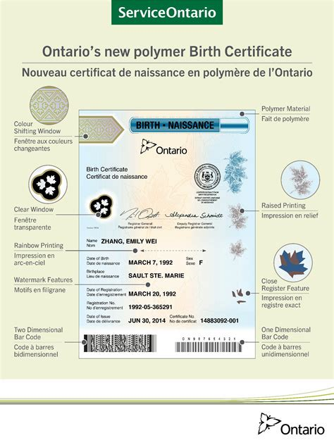 long version birth certificate ontario birth certificates are now harder to forge and easier to