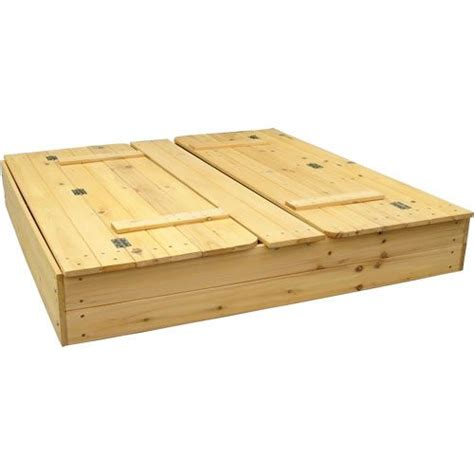 sandbox with folding benches wood sandbox cover fold down view when folded up has