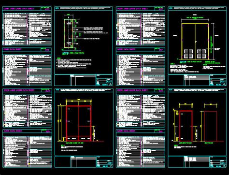window templates for autocad cad drawing door schedule template 5 door jambs
